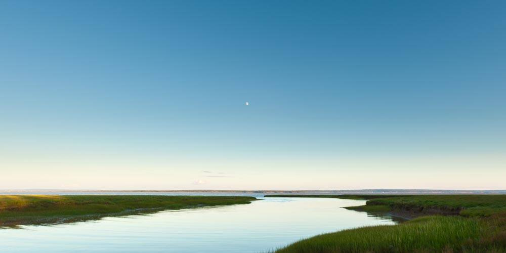 Wood Point Moonrise - Limited Edition Fine Art Print by Dan MacDonald
