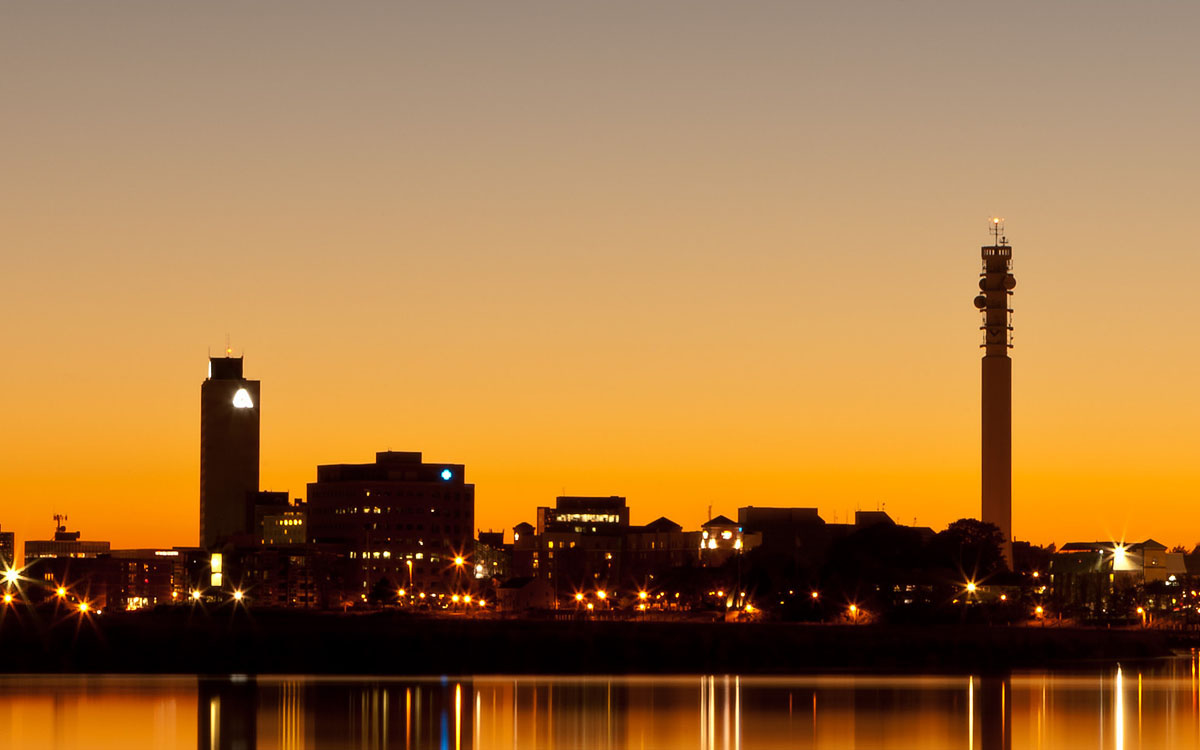 Moncton Sunset - 12 October 2013
